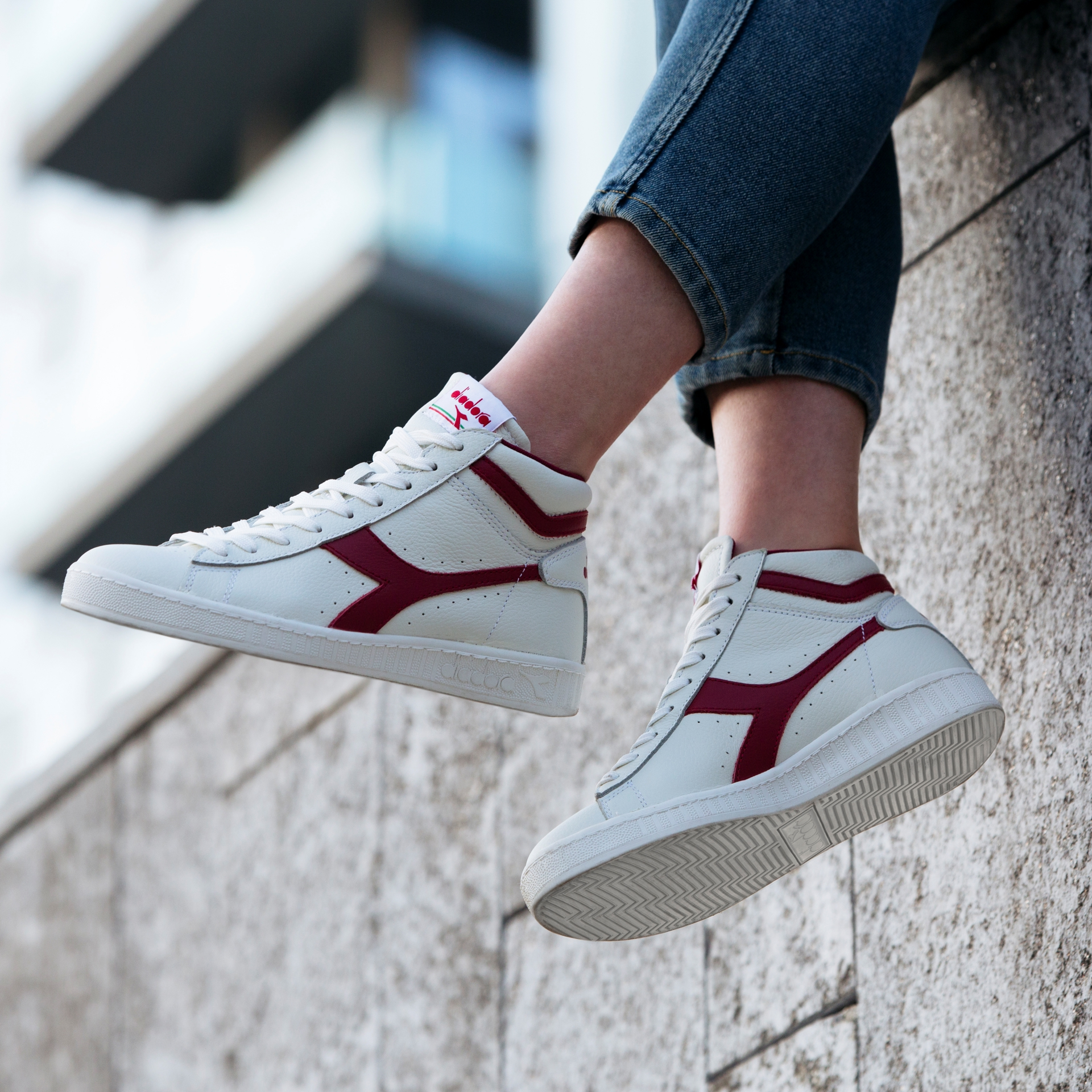 Diadora Men/'s Game L Low Waxed Ankle-High Leather Fashion Sneaker